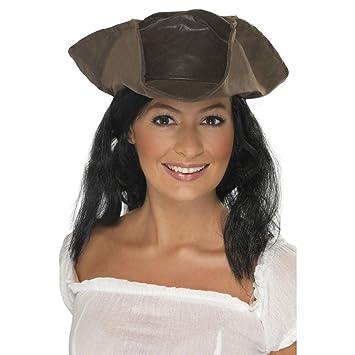 Sombrero de pirata para mujer accesorio bucanero gorro traje asesino ... 768c1d0d2708