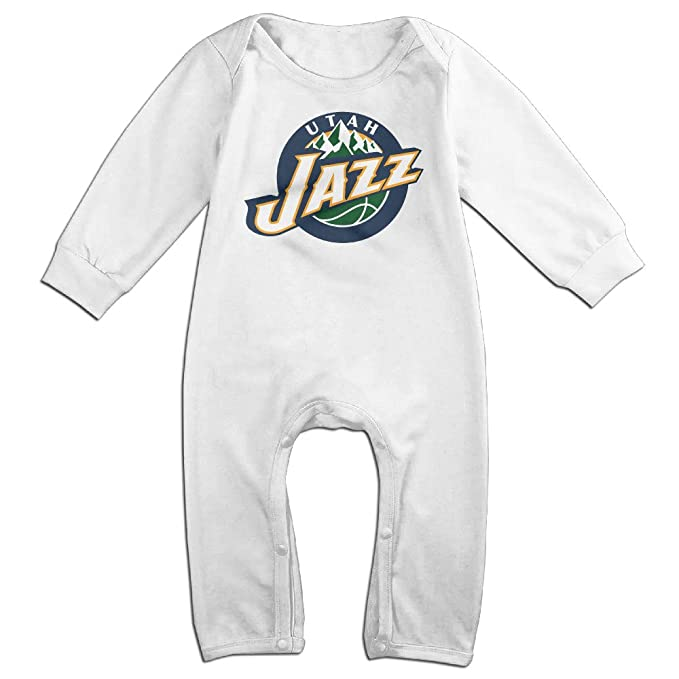 sports shoes cf9e2 0ba61 Utah Jazz John Stockton Utah Louisiana Baby Onesie Bodysuit ...