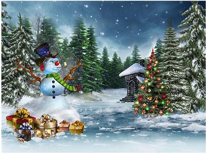 Amazon.com: Kit de pintura de diamantes 5D para Navidad ...