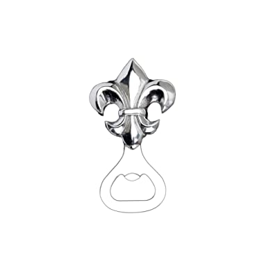 Arthur Court Designs Aluminum French Lily Bottle Opener 5 inches
