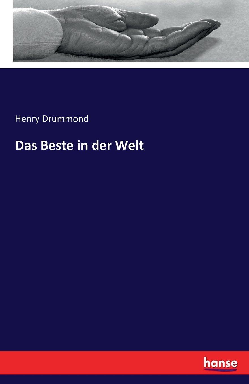 Das Beste in der Welt (German Edition) pdf