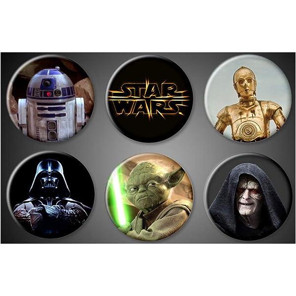 """R2-D2 Star Wars 2/"""" X 3/"""" Fridge Locker Magnet."""