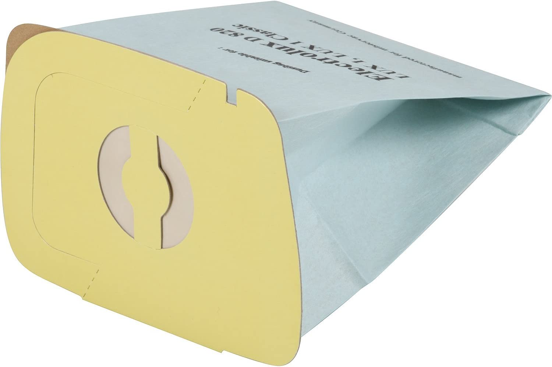 10 Sacchetti per aspirapolvere di alta qualit/à adatti per Electrolux Lux 1 Lux D 820 Lux 1 Royal Lux 1 Classic