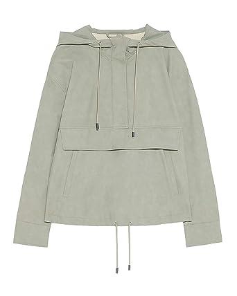 ff2b0ca4 Zara Women's Hooded Pouch Pocket Jacket 3046/057: Amazon.co.uk: Clothing