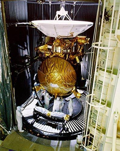 Poster A3 NASA Cassini Saturn Probe Undergoes Preflight Testing The newly assembled Cassini Saturn