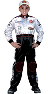 aeromax jr champion racing suit black and white