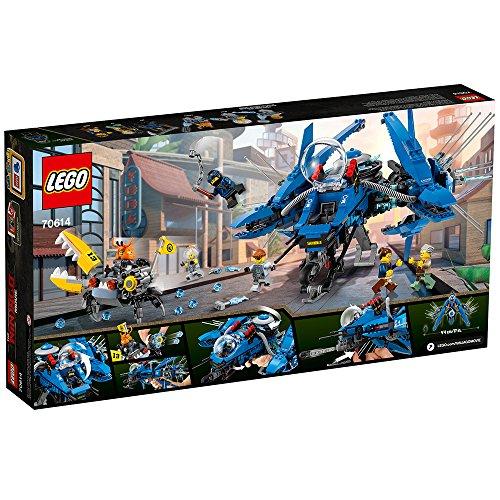 61Nk6yLMGDL - LEGO Ninjago Movie Lightning Jet 70614 Building Kit (876 Piece)