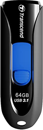 Transcend 64GB JetFlash 790 Super Speed USB 3.0 Pen Drive, Black Pen Drives at amazon