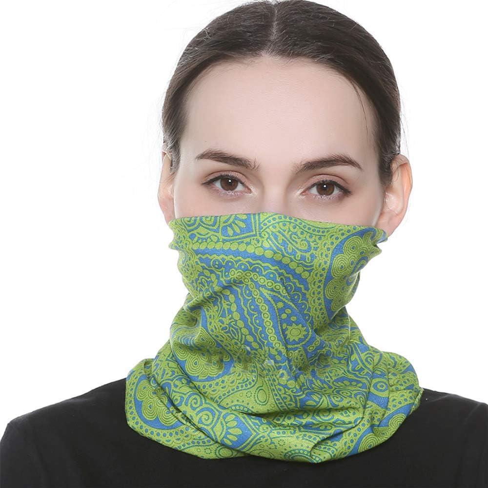 44# Group wocharm Elastic 6 Pack Multifunctional Outdoor Headband Bandanas Headwear Headwrap Mask Face Mask