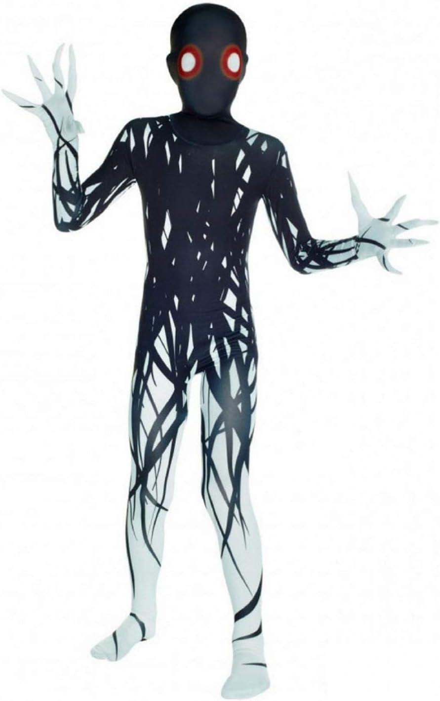 Morphsuits - Disfraz infantil con diseño monstruo Zalgo, talla L ...