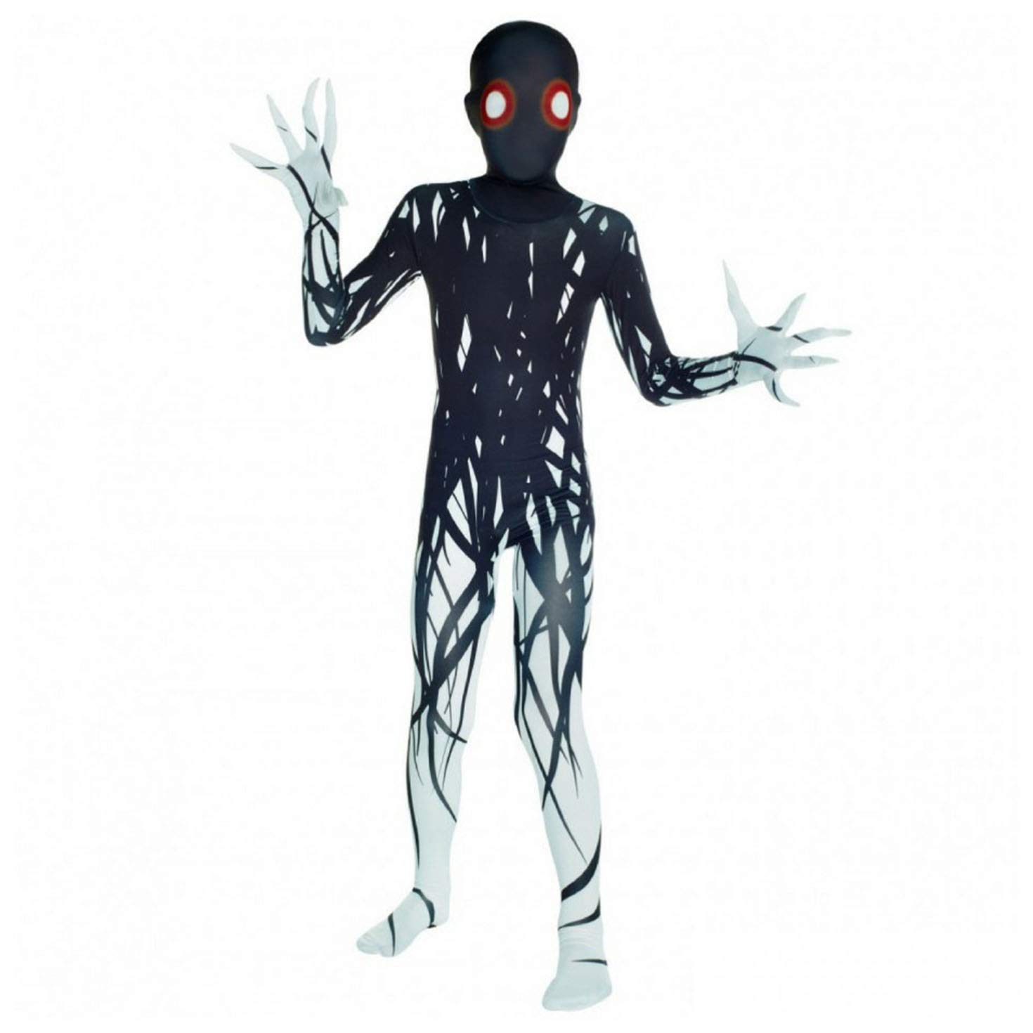 Morphsuits Zalgo Kids Monster Urban Legend Costume - Large 4'-4'6 / 10-12 Years (120cm - 137cm) by Morphsuits