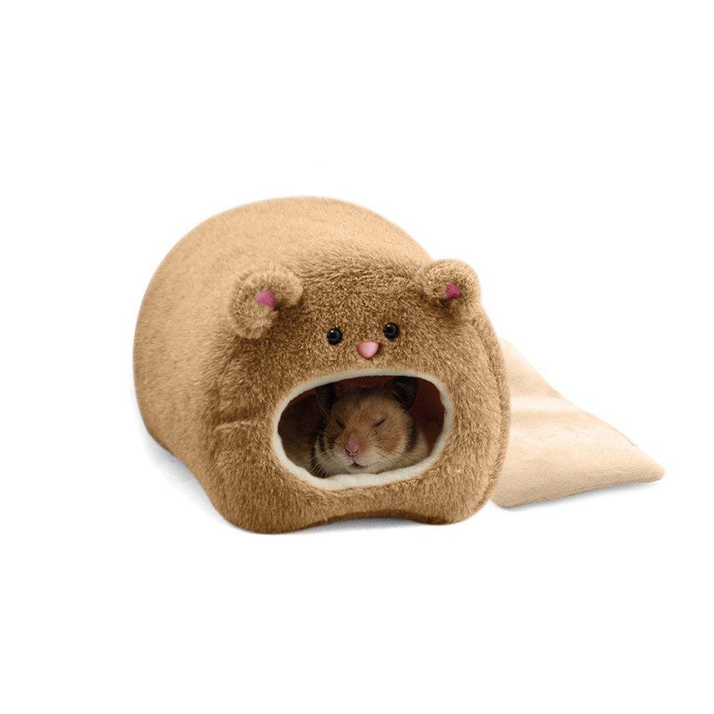 ROSENICE Plush Hammock for Hamster Warm Hanging Warm Soft Bed for Rat Rabbit
