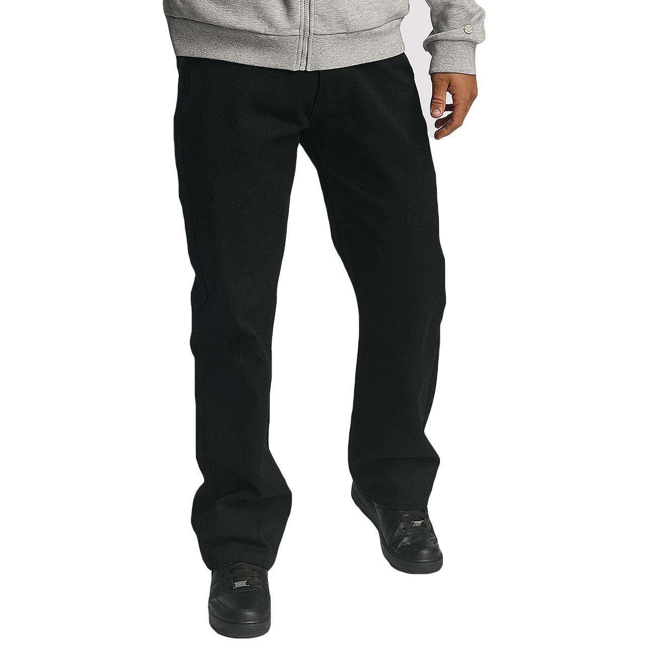 Rocawear Männer Sport-Loose Fit Jeans Loose Fit in schwarz