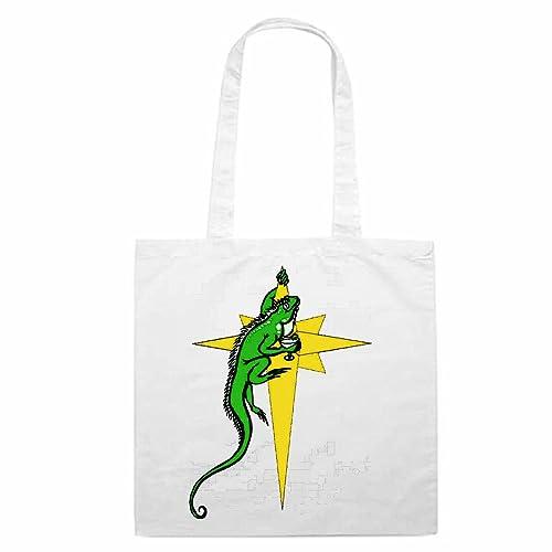 Bolso De Diseño Nº 10961 Gemeiner Iguana Con El Tipos De Dibujos
