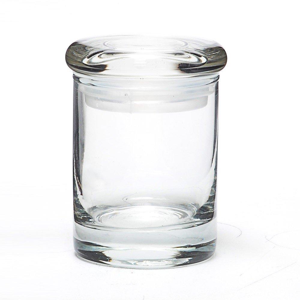 3.5 Gram Suction Lid Glass Jars (64 Jars) - MJ-GJSL64 by Verified Exchange (Image #2)