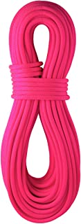 product image for BlueWater Ropes 9.7mm Lightning Pro Standard Dynamic Single Rope (Solid Neon Pink, 60M)