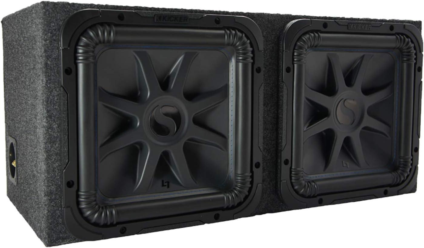 American Sound Connection Kicker 15 pulgadas Sub 2 con caja de subwoofer de 15 pulgadas: Amazon.es: Electrónica