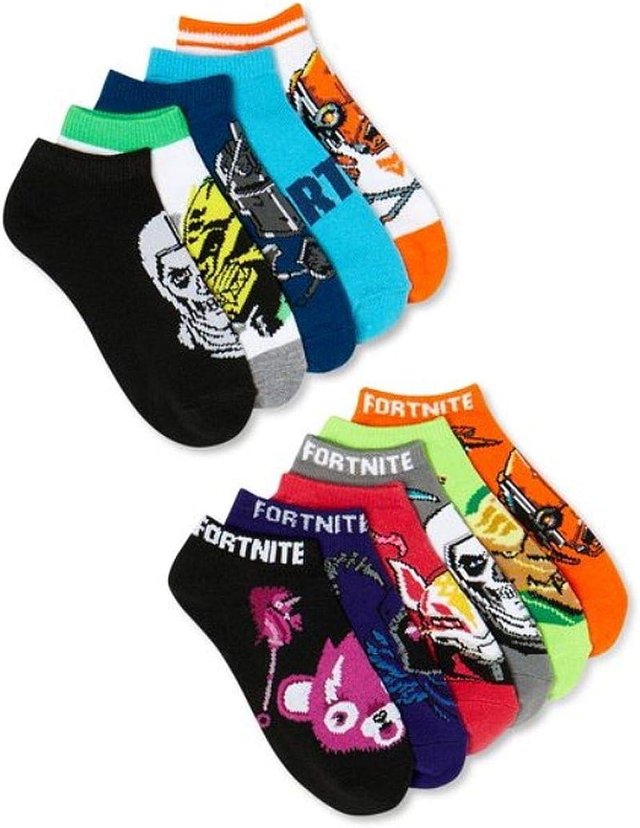 Fortnite Boys 11 Pairs Low Cut Socks