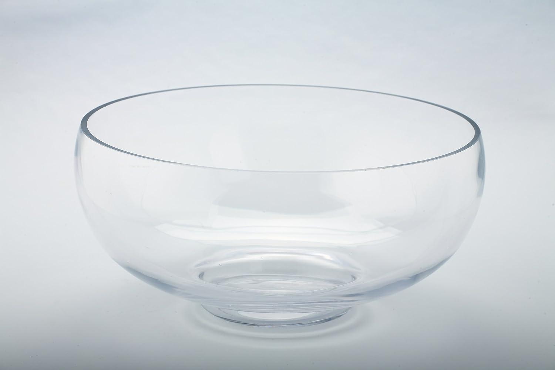Diamond Star Glass 12.5Dx6 clear Bowl