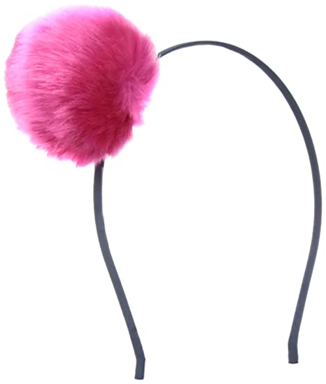 Amazon.com  Peppercorn Kids Girls  Pompom Headband-Hot Pink bbe813cbce2