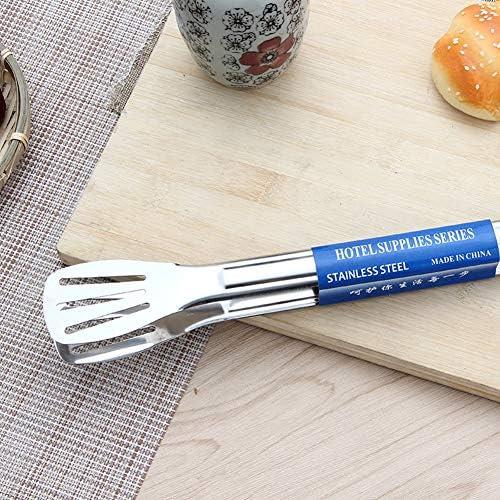 Lsgepavilion Pince à barbecue en acier inoxydable portable 23/29/33 cm 29cm