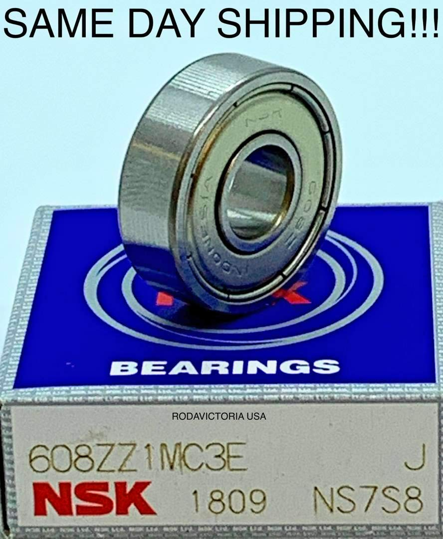 NSK BEARING 608ZZC3 NEW 608ZZC3