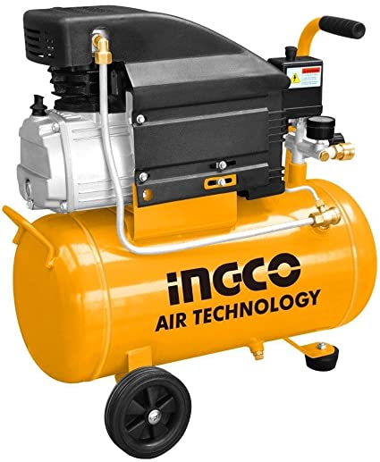 Ingco - Compresor Aire 2Hp 24Lts Ac20248E