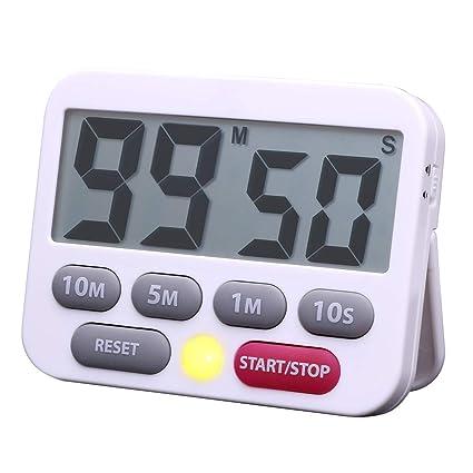 Digital Kitchen Timer Countdown 10 Minutes 5 Minutes 1