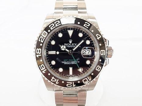 competitive price 8002e 9820e Amazon | ROLEX(ロレックス)GMTマスター2 116710LN 未使用品 ...