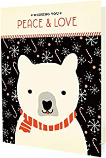 product image for Night Owl Paper Goods Polar Peace Holiday Cards (10 Pack)