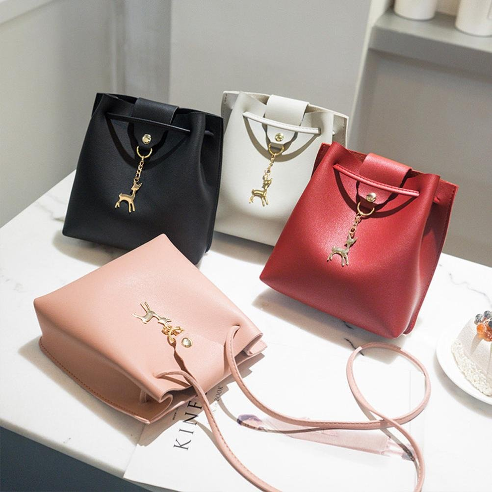 Amazon.com: ¡Limpiar! Bolsas de hombro para mujeres, casi a ...