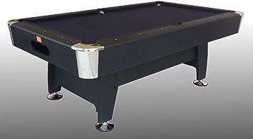 Mesa de Billar Black Norman Light (paño Negro) – r5505 – (216 cm x ...