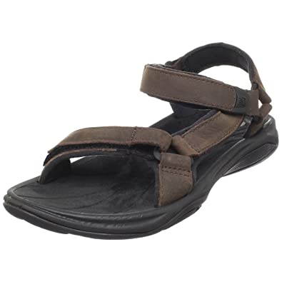 9f6e79f3e Teva Women s Pretty Rugged Leather 3 W s Sandal Brown 4179 4.5 UK ...
