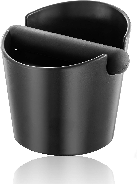 Klopfbox f/ür Kaffee mit abnehmbarer Klopfstange und rutschfester Unterseite Geschenk f/ür Barista-Klopfbox 12,2 cm sto/ßfest strapazierf/ähig Kaffee-Abfalleimer