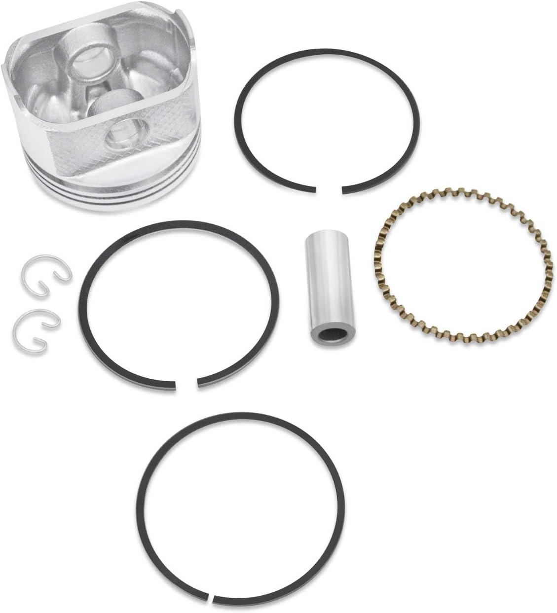Everest Parts Supplies New 020 Piston Kit Fits Kohler K341 16HP Rings Circlips Wrist Pin