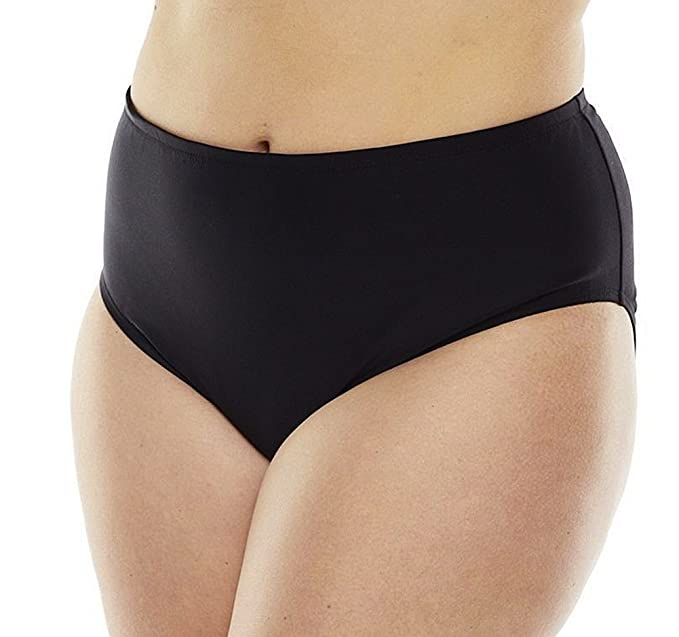 426c1112c8e67 Amazon.com: Croft & Barrow Semi High-Waist Scoop Bottoms for Women: Clothing