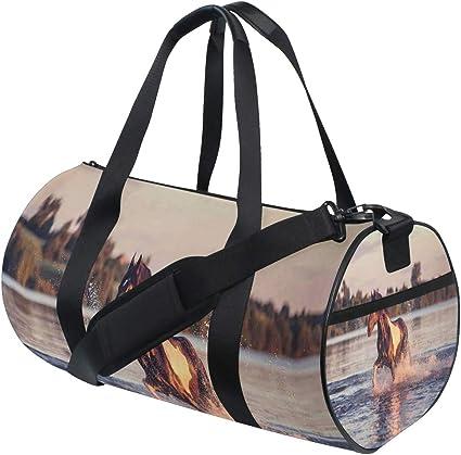 Horse Theme Duffle Bag Large Horse Gym Bags