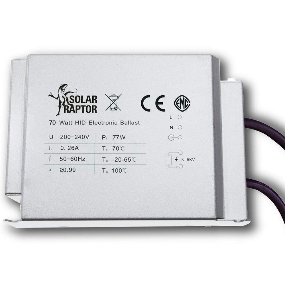 Econ Euro Para 70 Lámpara Solarraptor Hid W Lux AfeitadoraBalastro oQExrdCBeW