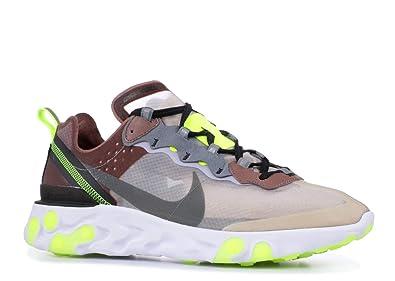 new product b9ffb 4b51e Nike React Element 87 - Aq1090-002 - Size 7.5 Yellow