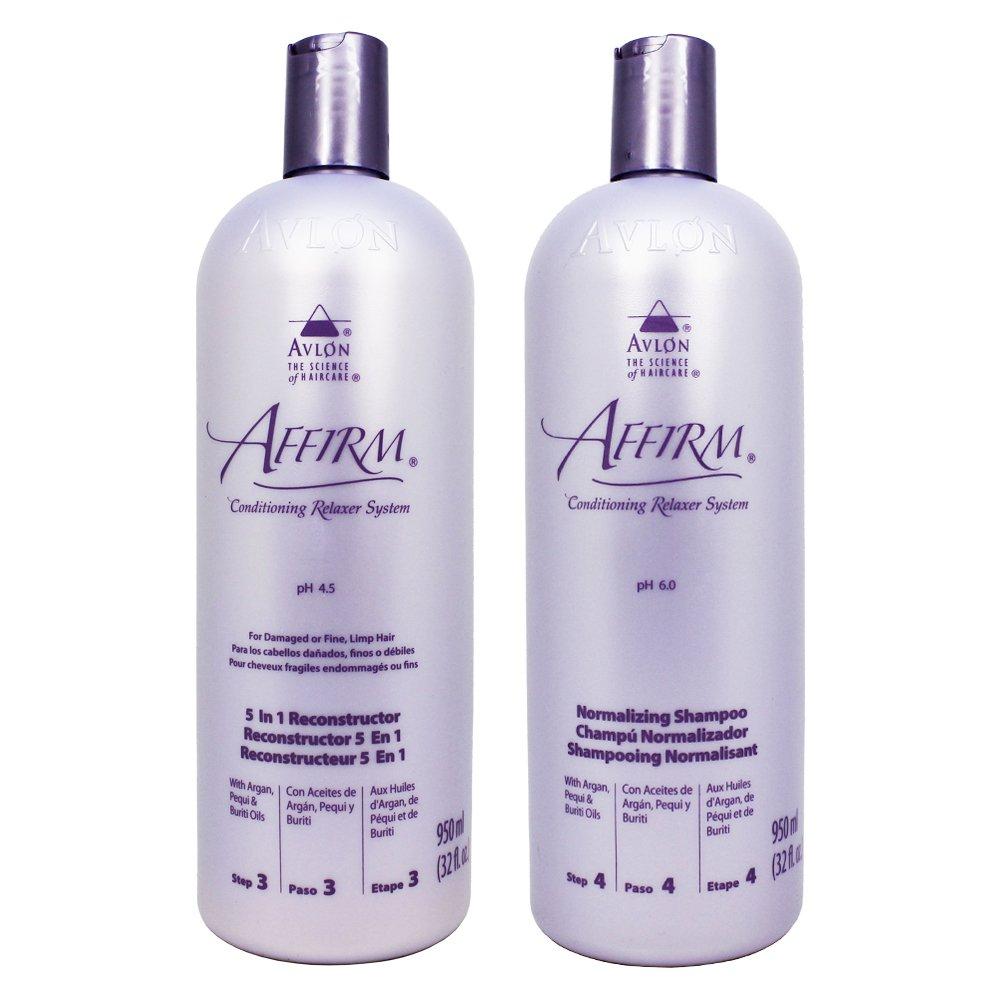 Avlon Affirm 5 In 1 Reconstructor 32oz + Normalizing Shampoo 32oz
