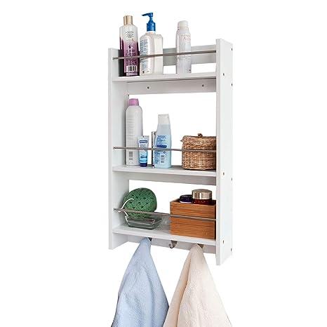 Estante de pared, estantería, estante de baño, estante de cocina ...