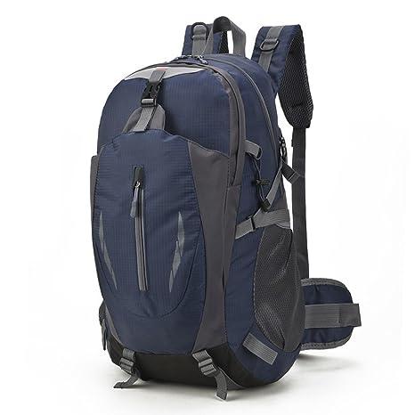 60862e3da3eb Amazon.com : BZFjy Outdoor Travel Backpack Men's Large-Capacity ...