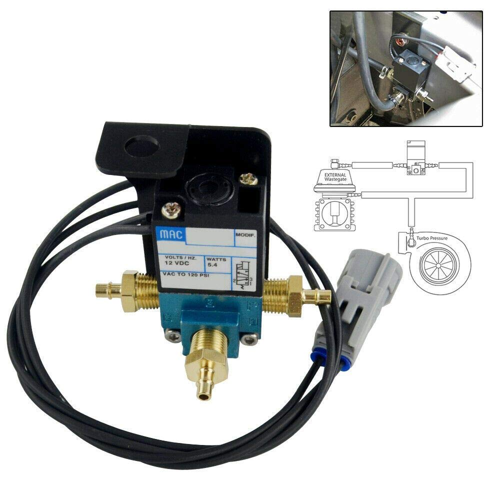 PTNHZ RACING Electronic Turbo Boost Control Solenoid Valve Compatible for 08 Subaru WRX Legacy Forester