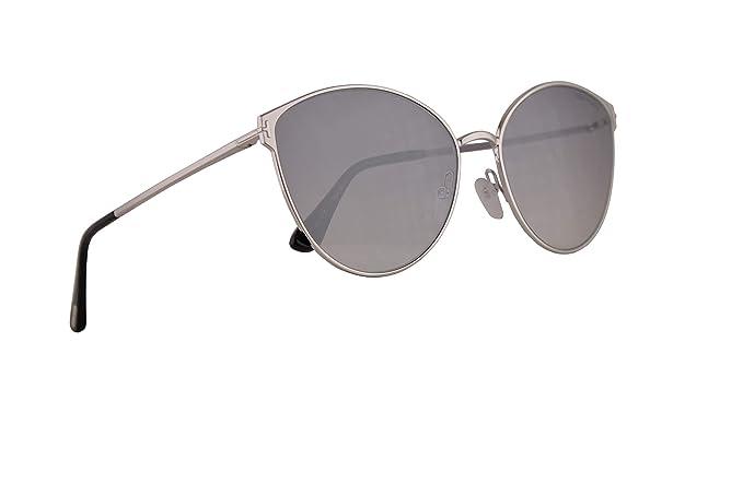 Tom Ford FT0654 Zeila-02 Gafas De Sol Plateadas Con lentes ...