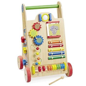 howa Carro andador de madera bebé 6000: Amazon.es: Juguetes y juegos