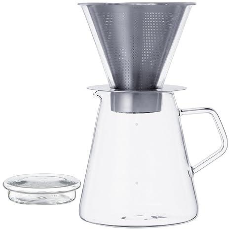 Amazon.com: Kinto – Cafetera de émbolo olla de quilates & de ...