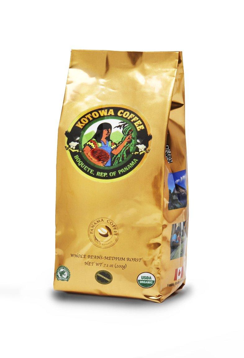 Panama Organic Whole Beans Coffee 8oz,227g
