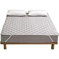 敷きパッド ベッドパッド 極細綿100% シーツ 肌触りよい 吸湿速乾 オールシーズン 洗える 抗菌防臭防ダニ 中綿入り ベッドシーツ ズレ防止 ベッドマット 敷ふとんカバー