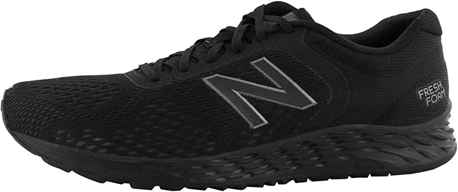 New Balance Men's Arishi V2 Fresh Foam Running Shoe, Black/RGB Green