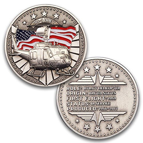 Used, UH-1 Huey Helicopter Aircraft Challenge Coin! Unreal for sale  Delivered anywhere in USA